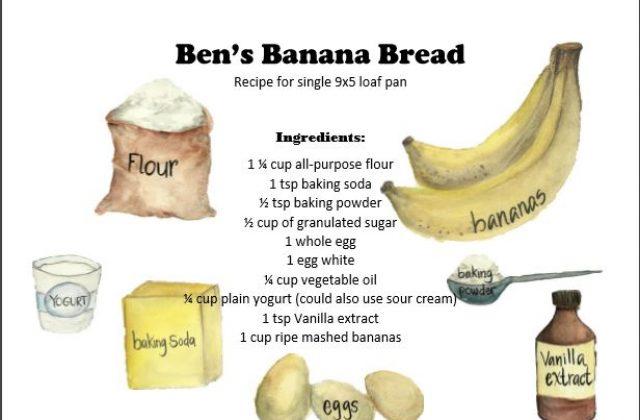 Ben's Banana Bread Recipe